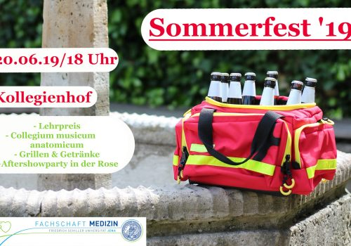 Save the Date: Sommerfest 2019